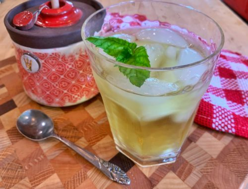Wild Mint Iced Tea!